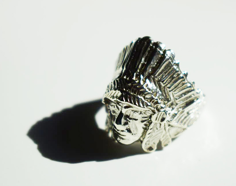 Native American Ring Sterling Silver